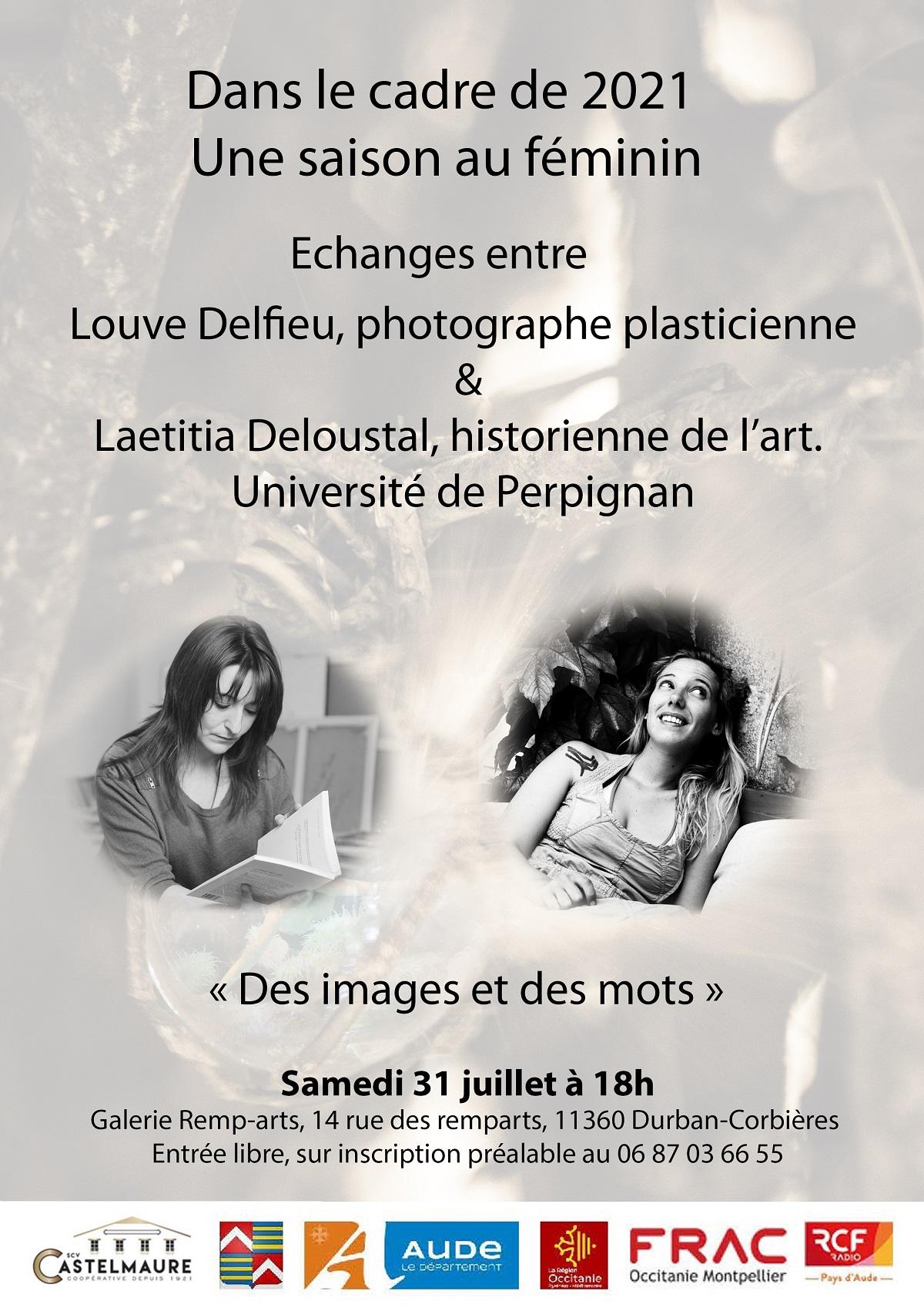 """""""Une saison au féminin"""" échange entre Louve Delfieu & Laetitia Deloustal"""