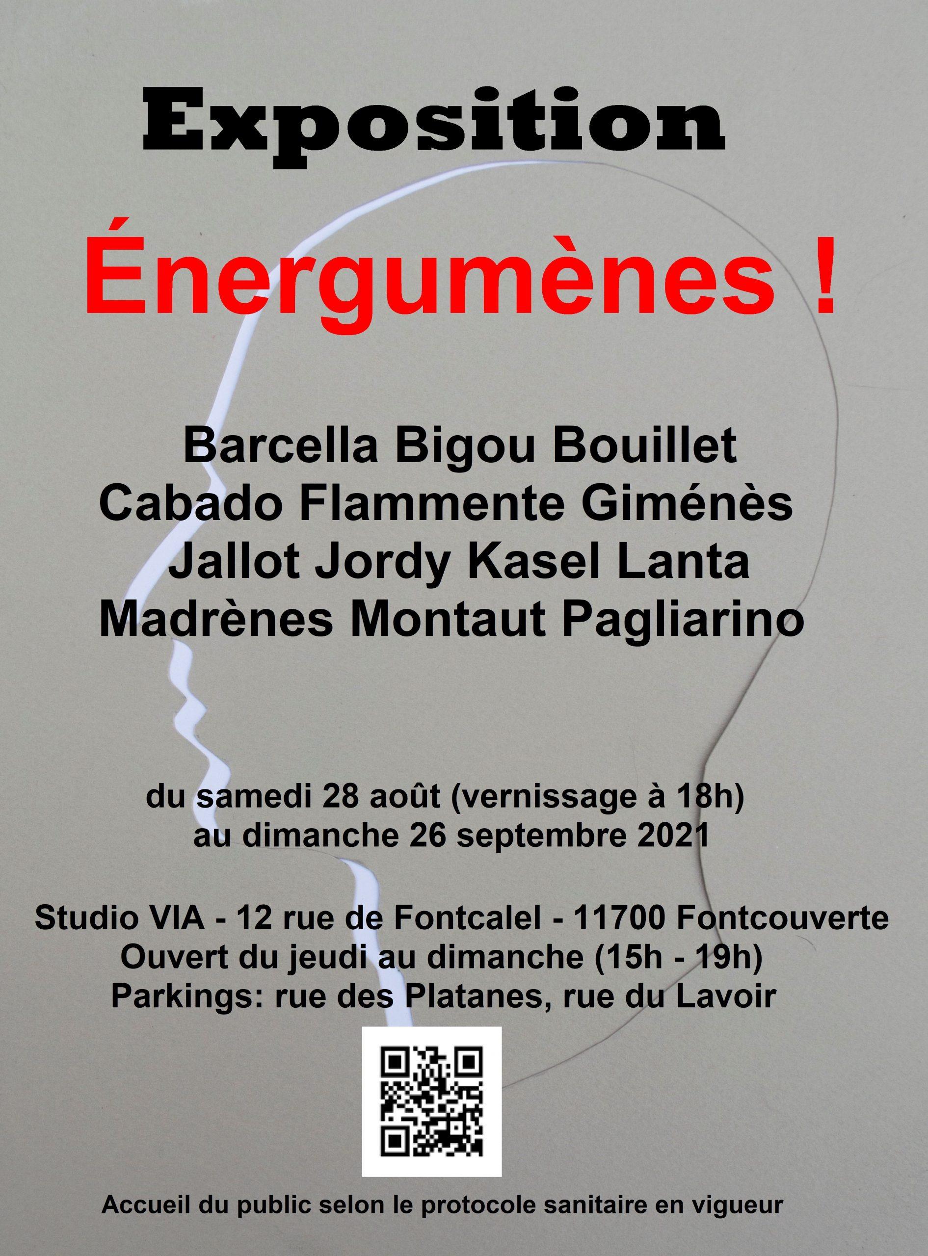 """Energumènes"", exposition au Studio Via"